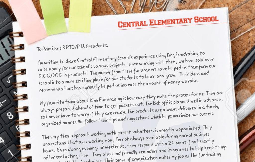 Central Elementary School Fundraising Testimonial